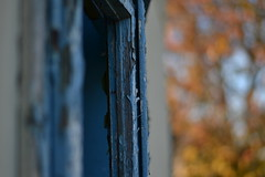Naputeno (ArheoTamara) Tags: old house okno jesen ulica srem kua prozori bainci