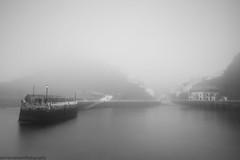 Cudillero in the mist (GKooijman70) Tags: spain spanje cudillero harbour haven mist landscape landschap bw asturias