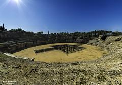 Panorama_Itlica (Jos Angel Garca) Tags: espaa roma sevilla gladiator anfiteatro panormica santiponce gladiador itlica nikond800 samyang14mmf28