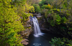Falls of Falloch (Alan Dunlop Photography) Tags: longexposure trees tree water beautiful river outside scotland waterfall movement woods scenery rocks exposure colours unitedkingdom outdoor peaceful falls lochlomand falloch landscapelovers
