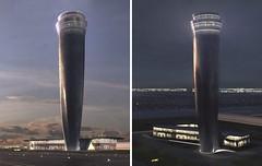 Прект диспетчерской башни аэропорта Стамбула от Zaha Hadid Architects
