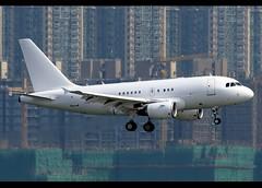 A318-112/CJ | Elite | Business Aviation Asia | VP-CYB | HKG (Christian Junker | Photography) Tags: nikon nikkor d800 d800e dslr 70200mm teleconverter aero plane aircraft airbus a318112cj a318100 318 a318 32s elite businessaviationasia vpcyb narrowbody businessjet bizjet vip arrival landing 25l airline airport aviation planespotting 5545 hongkonginternationalairport cheklapkok vhhh hkg hkia clk hongkong sar china asia lantau terminal2 t2 skydeck christianjunker wwwairlinersnet flickraward flickrtravelaward zensational hongkongphotos worldtrekker superflickers