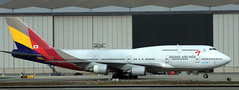 Boeing 747-48E HL7418 (707-348C) Tags: thehill losangeles lax klax boeing747 b744 boeing airliner jetliner passenger asianaairlines aar hl7418 asiana