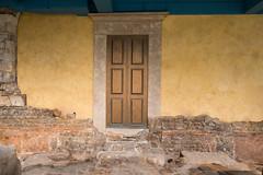 Door (The Image Den) Tags: architecture bath worldheritagesite romanbaths oldnew 62ndbirthday