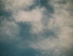 Clouds via 110. Nice. (Matthew Paul Argall) Tags: sky cloud clouds 110 110film kodakpocketinstamatic200