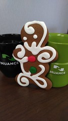 1216151154b (Michael C Meyer) Tags: christmas work lunch communications nuance gingerbreadmancookie