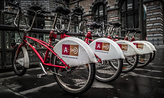 Velo Antwerpen (Antti Tassberg) Tags: city travel winter urban bike bicycle cityscape belgium smartphone cycle microsoft antwerp wp talvi xl velo antwerpen polkupyr 950 vlaanderen kaupunki belgia lumia pyr fillari pureview lumia950xl