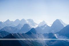 Blue Mountains - Banff National Park, Canada (Naomi Rahim (thanks for 5 million visits)) Tags: travel blue mountain canada mountains nature landscape nikon aerial wanderlust helicopter alberta pacificnorthwest banff rockymountains pnw birdseyeview banffnationalpark canadianrockies 2015 travelphotography nikond7000 naomirahim