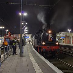 Eisenbahn-Tradition 78 468, Münster Hbf (Dennis te D) Tags: eisenbahn weihnachtsmarkt tradition 78 münster kerstmarkt beckum lengerich 468 neubeckum 78468 ennigerloh eisenbahntradition westfälischenlandeseisenbahn
