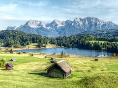 Geroldsee (maxmedl) Tags: sea mountains alps landscape bayern bavaria gap alpen karwendel mittenwald geroldsee wagenbrüchsee