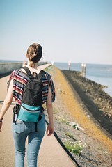 Friend (Lotte van der Krol) Tags: seaside sea summer daytrip harlingen netherlands dutch