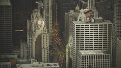 Main street (Stefano Montagner - The life around me) Tags: america chicago olympusomd stefanomontagner thelifearoundme usa city cityscape traffic citylight urban urbanlandscape johnhancockobservatory rooftop