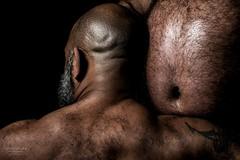 Intimacy I (OliverZeukePhoto) Tags: sexysunday oliverzeuke man men belly head bald beard