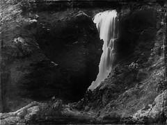 Forgotten Waterfall (Pierre Nasti) Tags: iceland travel nature waterfall vintage skogar trekking