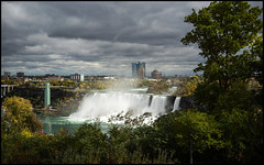 Niagara Falls Canada (Lens Bubbles) Tags: yashinon 45cm f18 lynx5000 niagarafalls diy lens