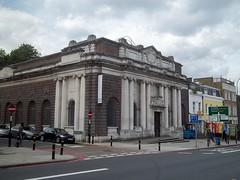 circa 1914 ,Town Hall now an art gallery, {New Cross} (doojohn701) Tags: rockerby road london lewisham 1914 art gallary town hall uk newcross