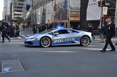 Polizia di Stato (Emergency_Vehicles) Tags: polizia di stato italian state police lamborghini hurricane columbus day parade new york