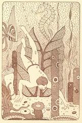 Matson Dinner Menu (jericl cat) Tags: vintage hawaii oahu hawaiian paper ephemera illustration hawaiiana tourism travel ad ads advertising matson line matsonia 1938 cruise liner ocean ship diver artdeco dinner menu