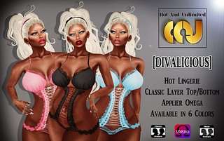 [DIVALICIOUS] - Lingerie Available In 6 Colors