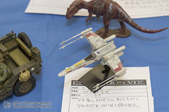 6th_doro_off_4-14 () Tags: dorooffexhibition 6dorooff dorooff        toy hobby model figure plasticmodel   xwing starwars
