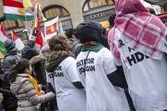 "19.11.2016 - Demo ""Erdogan Stoppen!"" in Leipzig (caruso.pinguin) Tags: hdp trkei leipzig erdogan stoppen demo demonstration kurden ypg pkk kudistan rojava is solidaritt 19112016 eisenbahnstrase kurdisch antifa"