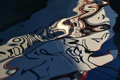 Palimpseste marin, water reflection (Jeanne Menj) Tags: palimpseste marin water reflection abstract reflet eau port
