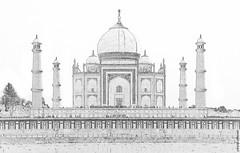 India - Uttar Pradesh - Agra - Taj Mahal - 16cc (asienman) Tags: asienman indien agra mahal taj mughal architecture tajmahal asienmanphotography asienmanphotoart unescoworldheritagesite mughalarchitecture muslimart