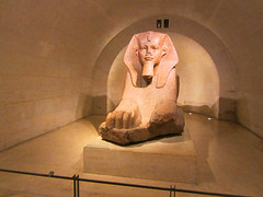 Egyptian sphinx from Tanis at The Louvre (bronxbob) Tags: france paris museums artmuseums thelouvre ancientegypt tanis sphinx sphinxes