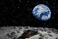 Seriously lost (markoknuutila) Tags: moon lunar car landscape volkswagen vw passat
