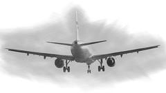 CFR3729 (Carlos F1) Tags: nikon d300 spotter spotting bcn lebl aircraft airplane aeroplane aeronave aviation transporte transport landing aterrizaje airliner ohlze finnair airbus a321211 a321200 a321 321 321211 ay elpratdellobregat barcelona spain pencil sketch draw dibujo lpiz avin aviacin avion aviacion