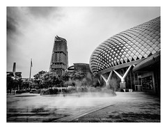 Hot and Steamy Singapore (red stilletto) Tags: singapore hot humid steam steamy esplanadetheatres esplanadetheatressingapore marinabay