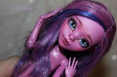 R_l1ygaVYLQ (2) (Cleo6666) Tags: kjersti trollson monsterhigh monster high mattel custom ooak repaint doll