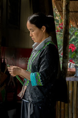 Hmong woman in hills (maryannenelson) Tags: thailand hmong women tradition people culture