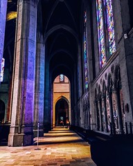 Grace Cathedral (maaahhs) Tags: architecture churches stainedglass gothic california sanfrancisco iphoneography