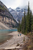 Walking the Shore (Kirk Lougheed) Tags: alberta banff banffnationalpark canada canadian canadianrockies canadien morainelake valleyofthetenpeaks autumn fall landscape outdoor lake shore mountain water