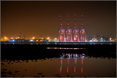 Liverpool Two Deep Water Container Terminal 30th October 2016 (Cassini2008) Tags: portofliverpool liverpooltwodeepwatercontainerterminal peelports rivermersey newbrighton wirral liverpool shiptoshorecranes sts