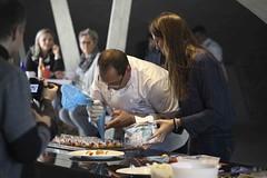 Workshop Gourmandise raisonne by Valrhona mit Laurent Mass (KochDesJahres) Tags: gourmandiseraisonnee laurentmasse livecooking liveshow miseenplace programm rahmenprogramm salzburg salzburg2016 show valrhona workshop panzerhallesalzburg sterreich