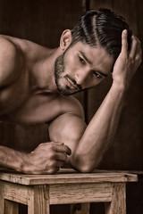 Saad LB#15 (Kazi_Kamrul_Abid) Tags: man male malenude muscular muscle fitness gym body bodybuilder studio light