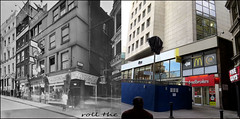 Villiers Street`1937-2016 (roll the dice) Tags: london westminster wc2 old sad mad closed vanished demolished uk classic londonist art comparison nostagia bygone retro local history streetfurniture architecture publichouse pub boozer beer ale hamburger collection changes canon tourism american oldandnew pastandpresent hereandnow hotdog restaurant charingcross station rail tube underground roundel subway exit itsu betting ladbrokes shops shopping fashion hotel culture jlyons tea corner windows ladder people