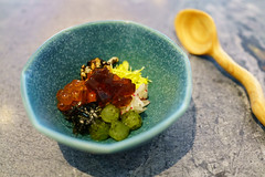 """Bibimbap"" (Premshree Pillai) Tags: whitegrass singapore tastingmenu dinnerforone dinner chijmes food restaurant"