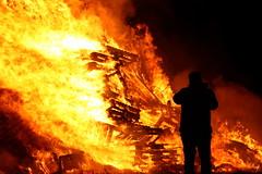 IMG_9831 (hspall) Tags: november5th skylarkgardencentre fireworkstomusic fire bonfire guyfawkes silhouette flames blaze