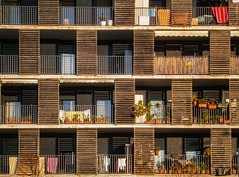 ... The Windows Experience ... (Lanpernas 4.0) Tags: ritmo ventanas windows balcones balconies urbanite city donostiaoculta riberas riberasdeloiola barrio arquitectura architecture casas pisos bloques