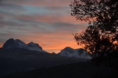 Prima neve.... (salernolorenza) Tags: nikond5100 tramonto neve paesaggio gransassoditalia abruzzo