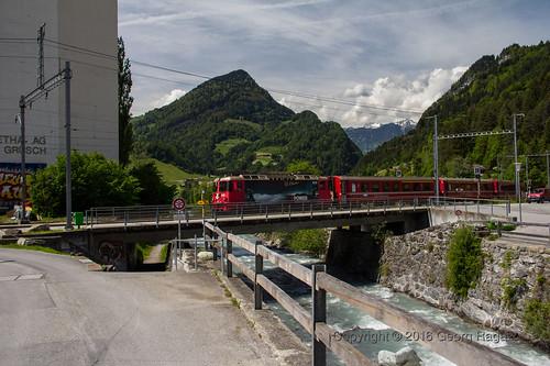 Grüsch Bahnhof