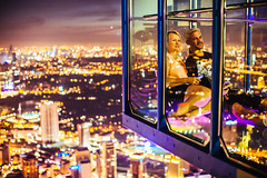 Vertigo (ole) Tags: malaysia kualalumpur night menara kltower view landscape cityscape