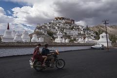Tourists (Ravikanth K) Tags: 500px leh ladakh people travel india jammuandkashmir tourists bike motorcycle thiksey monastery ourdoor
