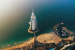 Burj al Arab (MaddixLuxx) Tags: none nikon d2x 1116 tokina 28 burj al arab aerial flight sea uae vae vereinigte arabische emirate united emirates dubai abu dhabi