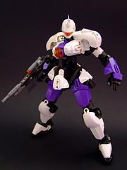 GRS-03 Phantom (Djokson) Tags: robot mecha suit lego bionicle model toy military gun weapon purple white black djokson moc