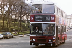 LOTHIAN REGIONAL TRANSPORT 864 J864TSC (bobbyblack51) Tags: lothian regional transport 864 j864tsc leyland olympian alexander rh edinburgh 1996