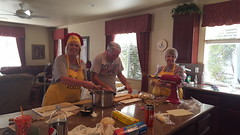Annual Ravioli Making (cjacobs53) Tags: jacobs jacobsusa 116picturesin2016 scavenger hunt annual yearly sher sherry apron family tradition ravioli food hommade